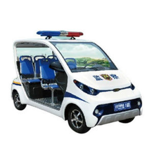 4 Wheels Electric Patrol Cart with No Doors pictures & photos