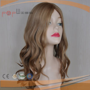 Human Hair Jewish Kosher Women Blond Wig (PPG-l-0136) pictures & photos