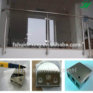 Stainless Steel Staircase Balustrade Glass Clamp pictures & photos