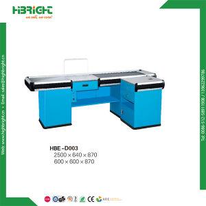 China Factory Economic Supermarket Equipment Cashier Desk pictures & photos