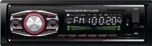 1 DIN Fixed Panel Car MP3 Player with USB/SD/Aux pictures & photos