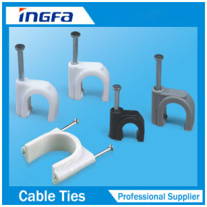 PP Circle Cable Clips pictures & photos