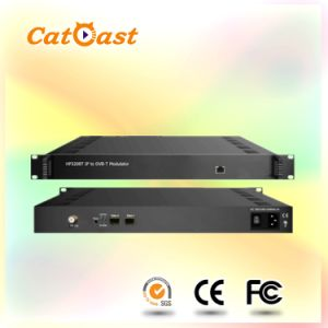 HP3208t IP to DVB-T Modulator for Newly DTV Broadasting System pictures & photos