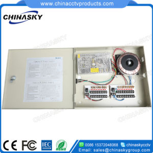 12VDC 10A 18CH Waterproof CCTV Power Distribution Box (12VDC10A18PW) pictures & photos