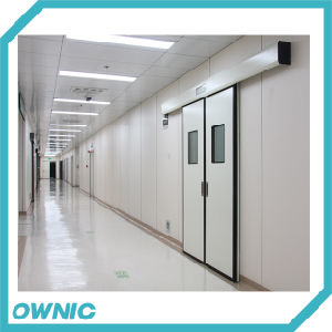 Patented Product Hospital Hermetic Sliding Door for Ot Room pictures & photos