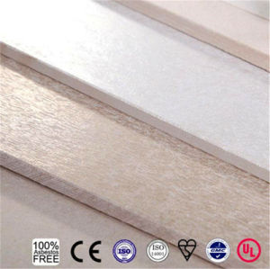 Low Density Fireproof Board Decoration Material Fiber Cement Board Calcium Silicate Board Partition Wall Board pictures & photos