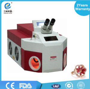 200W Gold Jewelry Laser Spot Beam YAG Welding Welder Machine for Sale pictures & photos