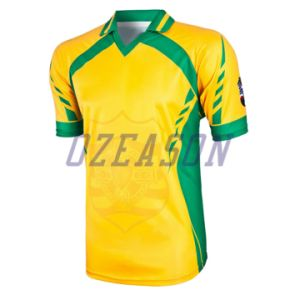 Whlesale Sublimation Cricket Uniforms with Custom Team Logo (CR008) pictures & photos
