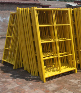 Painted Construction Scaffolding Bodies Complete Scaffolding China Price pictures & photos