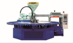 Rotary PVC Single Color Airblowing Injection Molding Machine pictures & photos