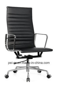 Aluminium Leather Cover Hotel Office Eames Chair (PE-B02) pictures & photos