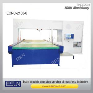 Ecnc-2100-6 CNC Vertical Revolving Blade Foam Cutting Machine pictures & photos