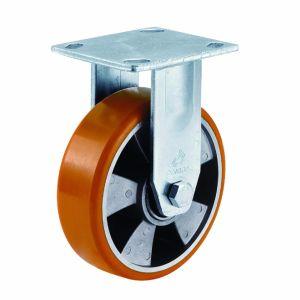 4/5/6/8 Inch Aluminum Centre Orange PU Swivel Caster Wheel pictures & photos