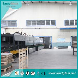 Landglass Flat Glass Tempering Furnace for Door Glass Tempering pictures & photos