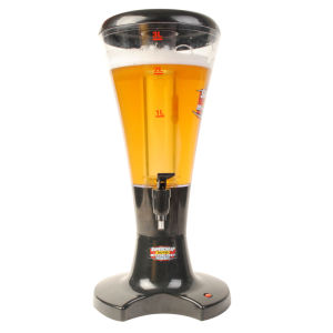 Draft Beer Tower 3L Tabletop Drink Dispenser with Tap pictures & photos