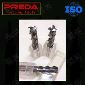 High Quality Tungsten Carbide 3 Flutes Aluminium End Mills Spot pictures & photos