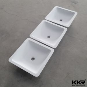 Luxury Resin Stone Marble Washbasins for Bathroom (B1711248) pictures & photos