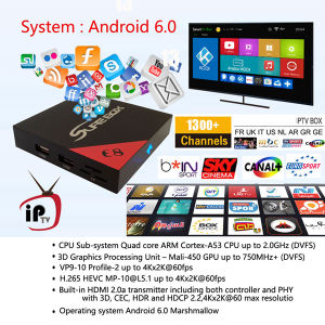 Indian IPTV 500+ Channels Plus Amlogic S905X Quad Core CPU TV Box pictures & photos