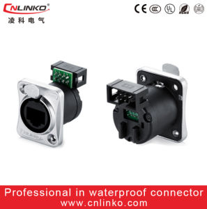 UL Apporved IP65 Cat 5 Waterproof RJ45 Connector/8p8c Connector pictures & photos