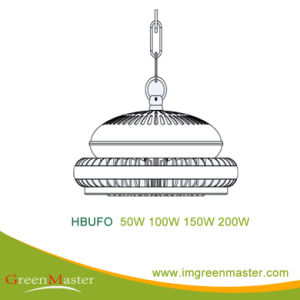 Hbufo 50W 100W 150W 200W Factory Warehouse LED High Bay Light pictures & photos