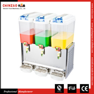 Drink Dispenser Automatic Juice Dispenser Catering Equipment Lrsp-18L*3 pictures & photos