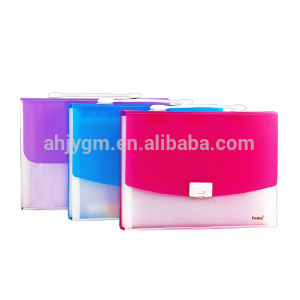 A4 13 Layers Transparent Color Expanding File/Expanding Bag pictures & photos