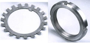 bearing Looknuts and Lock Washer