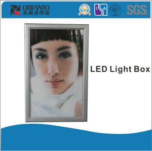 Aluminium Open Type Ultra Slim Light Box pictures & photos