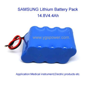 Hight Quality Lithium Battery for ECG Portable Monitor etc. 14.8V5.2ah