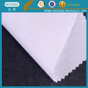 Fusible and Non-Fusible Cotton Shirt Collar Interlining pictures & photos