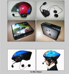 Bluetooth Interphone 500m with FM for Motorcycle or Bike/ Bluetooth Helmet Headset/Motorcycle Helmet Bluetooth Interpiece