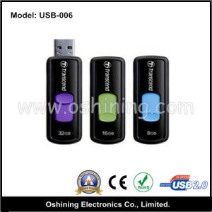 Sliding USB 2.0 Flash Drive, OEM Service (USB-006) pictures & photos