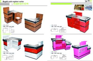 Low Price Cashier Counter with Good Quality pictures & photos