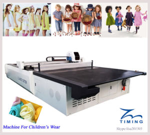 Width 2m Length 2.5m Polyester Cotton Fabric Cutting Machine pictures & photos
