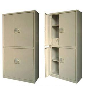 4-Door 4 Layers Steel Wardrobe Office Locker Steel Cabinet pictures & photos