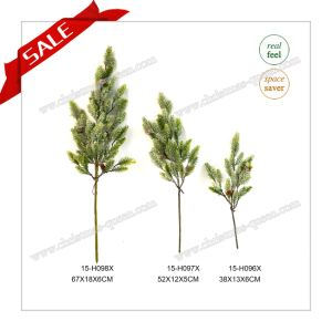 Holiday Decoration Artificial Needle Pine Christmas Tree Branches for Decoration pictures & photos