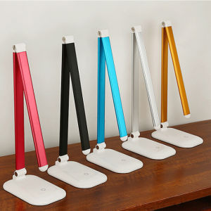 Touch Control Dimmable Rechargeable LED Desk Lamp pictures & photos