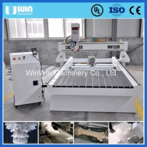 Rotary Axis Root Carving Natural Wood Woodworking CNC Router Machine pictures & photos