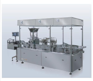 Automatic Vial Small Bottle Glass Bottle Injectable Liquid Filling and Stoppering Machine pictures & photos