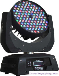 DMX512 Flash Light 108*3W RGBW LED Zoom Moving Head Stage Light
