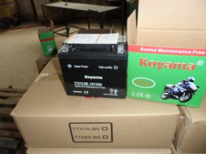 12V10ah High Performance Motorcycle Starting Battery Ytxt12-BS pictures & photos
