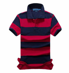 Fashion Yarn Dyed Polo T-Shirt for Men