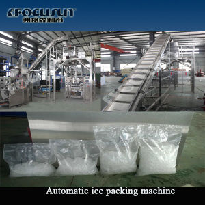 Automatic Bagging Sealing Machine to Bag Ice. 2, 3, 5 and 10 Kg Bags pictures & photos