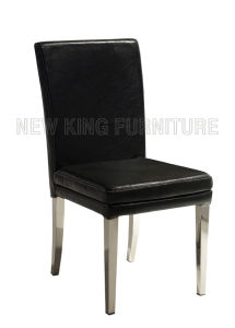 Cheap Europe PU Leather Dining Chair (NK-DC019)