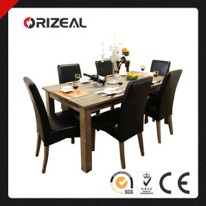 High Quality Solid Wood Dining Table and Chairs (OZ-TE-001) pictures & photos