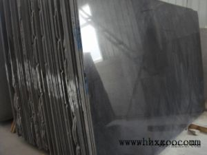Polished Shanxi Black Granite Countertop Stone/Covering/Flooring/Paving/Tiles/Slabs/Granite/Countertop/Vanity Top pictures & photos
