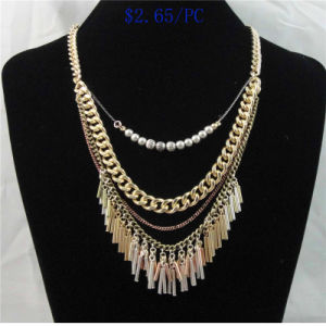 2017 New Item Steel Chain Fashion Necklace pictures & photos