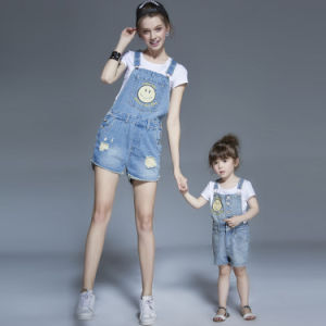 Family-Look Denim Suspenders