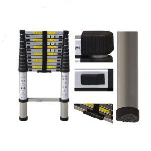 Aluminium 12 Step Telescopic Ladder with 3.8m pictures & photos