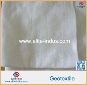 Polyester Nonwoven Geotextile Fabric for Slope Protection pictures & photos
